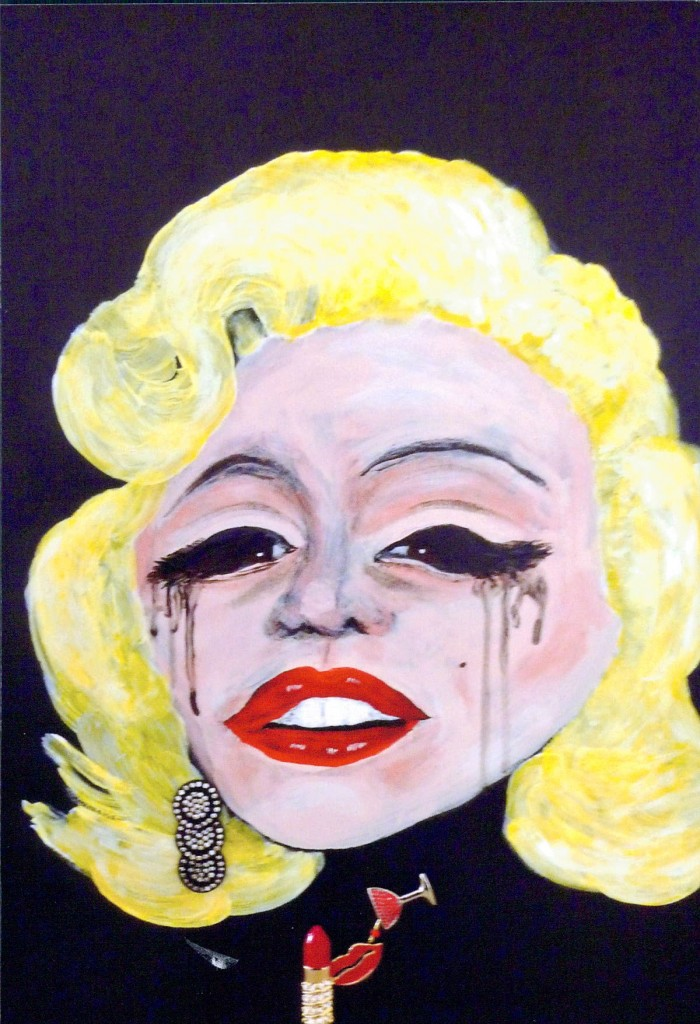 Marilyn Monroe in Tears